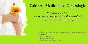 Cabinet medical de Ginecologie