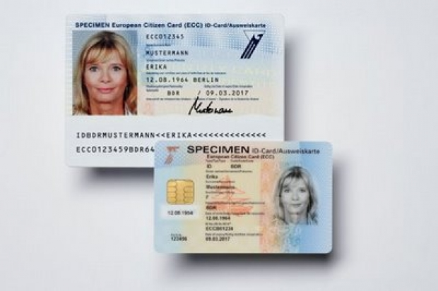 card de identitate european